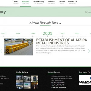 SBR History page