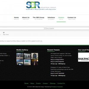 SBR Careers page
