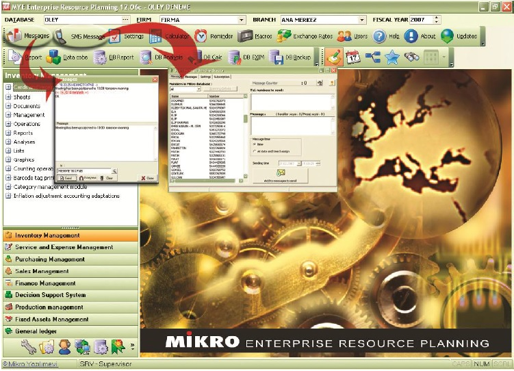 Mikro user-friendly interface